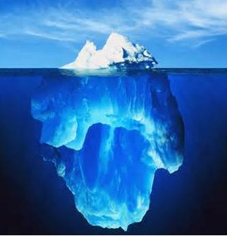 teoria dell'iceberg