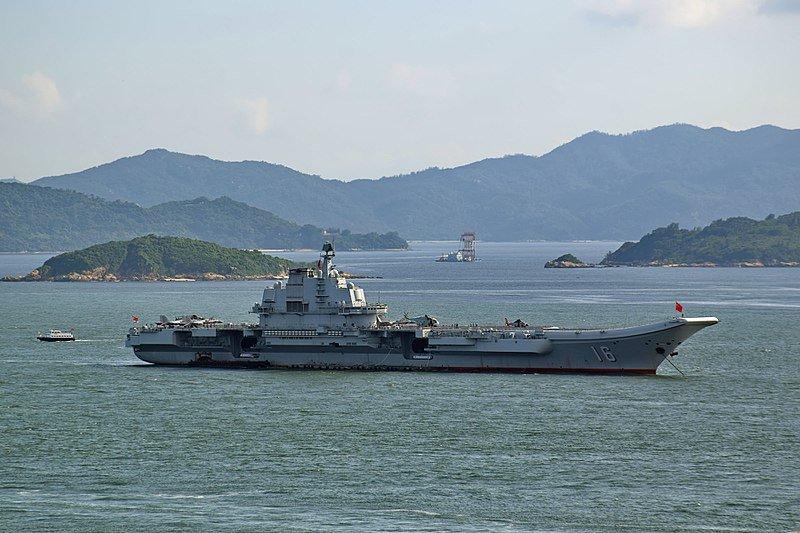 Lianoning portaerei cinese