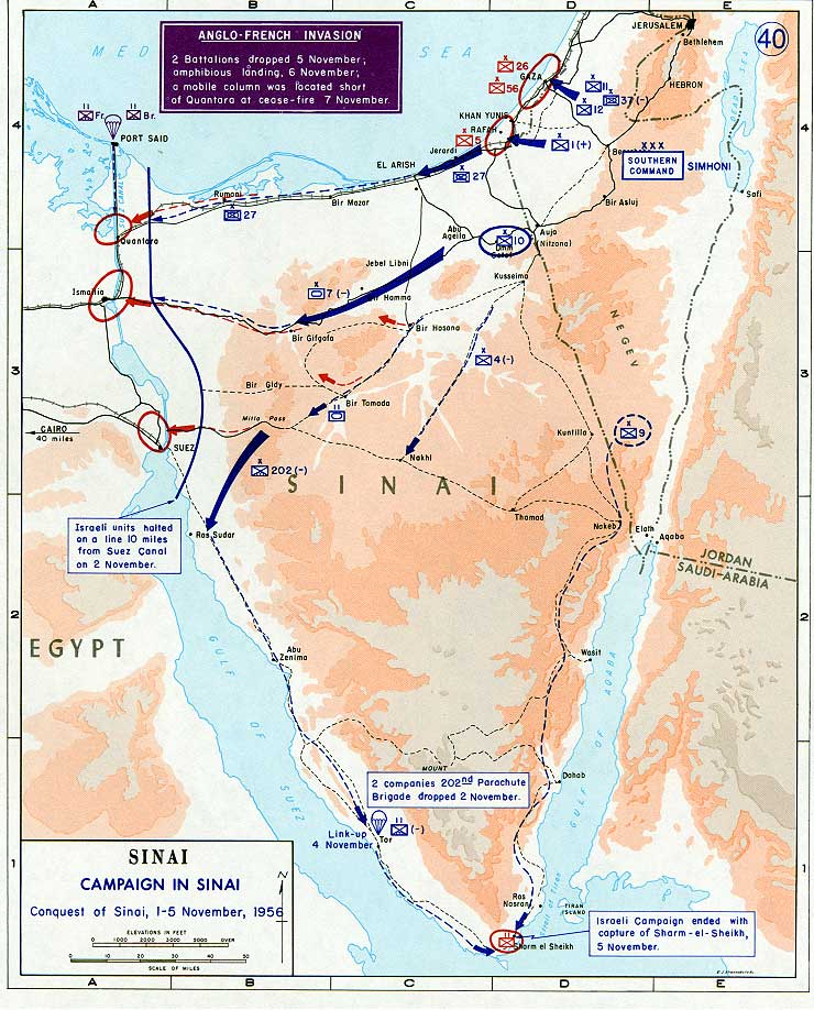 la crisi di Suez