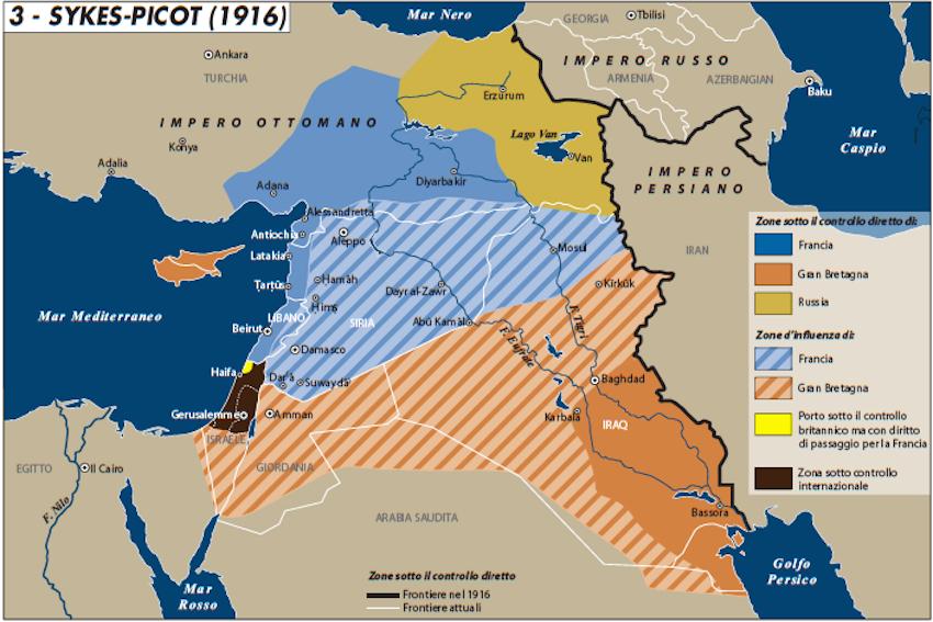 accordi di Sykes-Picot