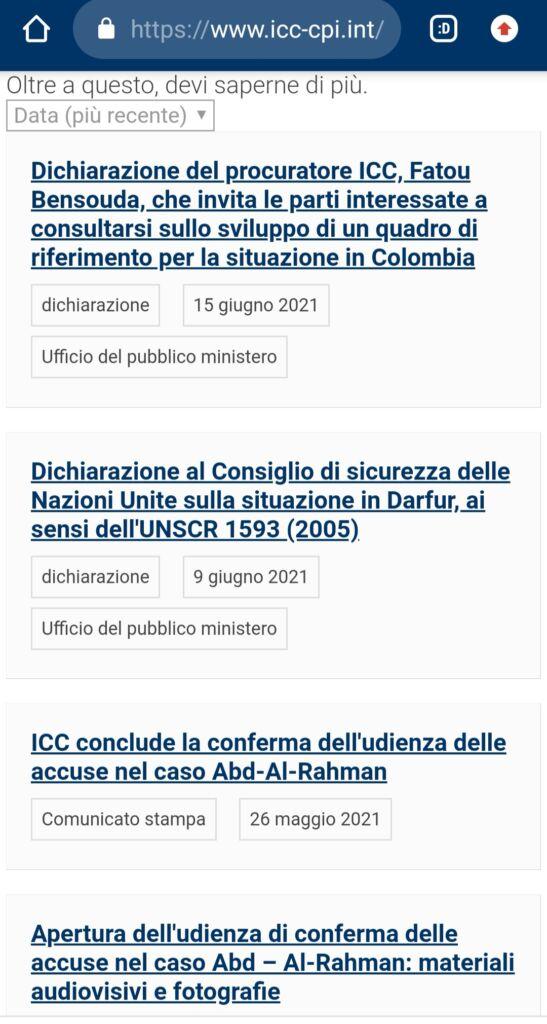 Italia è stata denunciata all'Aja